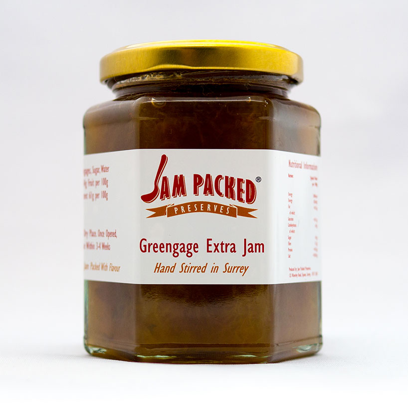 Greengage Extra Jam – Jam Packed Preserves